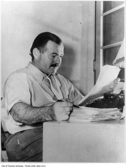 Ernest Hemingway. - [ca. 1930]
